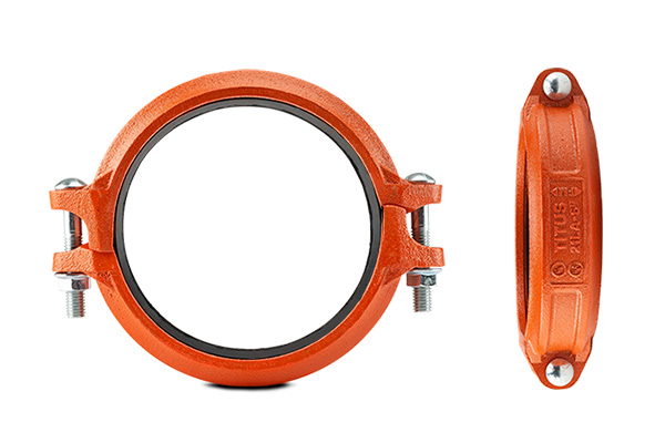 lightweight rigid couplings for fire protection applications