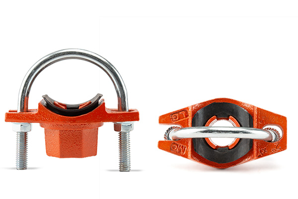 saddle-let outlet tees for fire protection applications